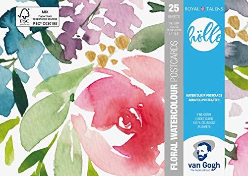Van Gogh Frau Hölle Water colour Postcards - Papel de acuarela (10,5 x 14,8 cm)
