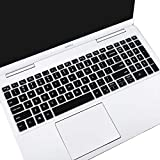 Keyboard Cover for 2020 2021 15.6 17.3 Dell Inspiron 15 17 5000 5584 5593 5594 5598 5501 5502 5505 5508 5509, 7000 7500 7590 7591 7501 7506 7706 7790 7791,Vostro 15 7590 5590 7500 Keyboard Skin, Black