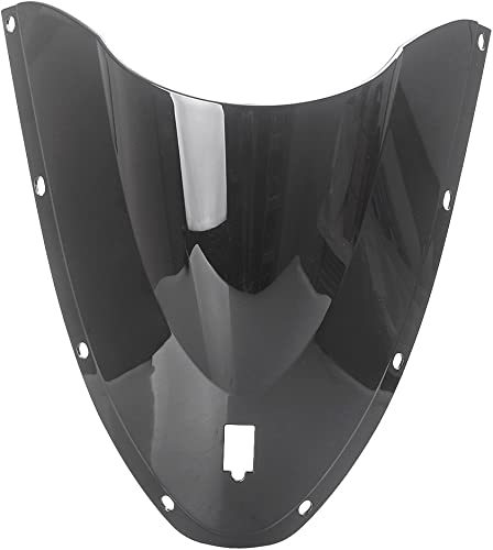 new arrival Mallofusa Motorcycle outlet sale Windscreen Front Windshield Compatible outlet online sale for Ducati 999 2005 2006 Black online sale