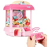 Xiangtat Claw Machine, Claw Toy,2.4G Remote Control Automatic or Manual Dual Mode Mini Claw Machine, Intelligent System with Music and Lighting, Giving Childrens The Best Gift (Model 3)