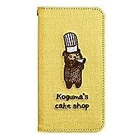 サンクレスト iDress iPhone8/7/6s/6 4.7インチ対応 iPhone ケース こぐまのケーキ屋さん こぐま イエロー i7S-KC02