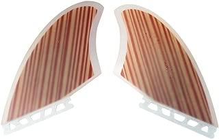 Wood Veneer Future Keel Fins Future Base Keel Fins Boards (2pcs/set)