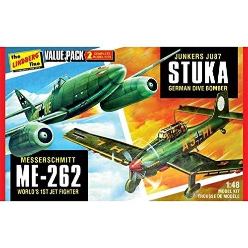 HAMMOND TOY WWII German Figthers Junkers Ju87 Stuka and Messershmitt Me262