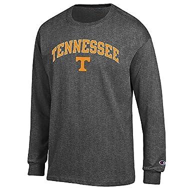 Elite Fan Shop Tennessee Volunteers Long Sleeve Tshirt Varsity Charcoal - M