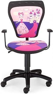 NOWY STYL Enfants De Chaise Bureau Chambre Princesse Fille Ministyle Accoudoirs