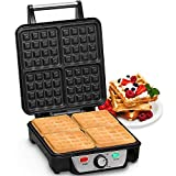 Best Belgian Waffle Makers - Andrew James Belgian 4 Slice Waffle Maker | Review