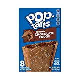 Kellogg's Pop-Tarts Frosted Chocolate Fudge Toaster Pastries - Fun Breakfast for Kids, Value Pack (12 Count)