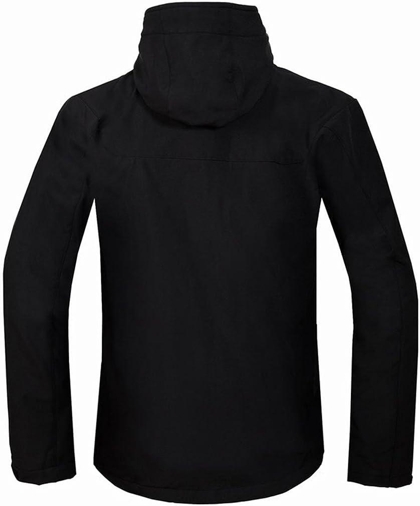 Topway Mens Soft Shell Fleece Lining Sports Jacket Sports Hooded Breathable Coat