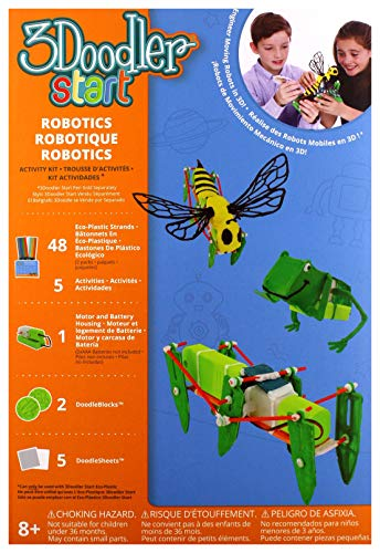 3DOODLER 62138 Start Robotic Activity Kit, Multicolored