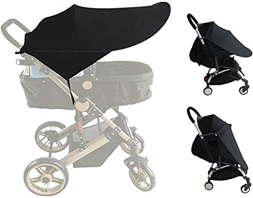 protecci/ón UV 50+, 56 cm de di/ámetro Blue ZOPA Parasol Sombrilla Carrito Bebe Universal para cochecito de beb/é