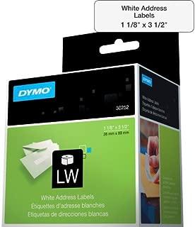 Etiqueta p/Impressora Térmica LabelWriter 28mmx89mm 2 Rolos C/350 un. 30252 Dymo