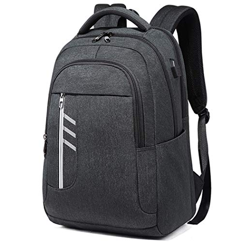 Travel Laptop Backpack 15.6 Inch XL Heavy Duty Computer Backpack Pockets Water-Repellent Business College Daypack Stylish School Laptop Bag for Men/Women -Grey