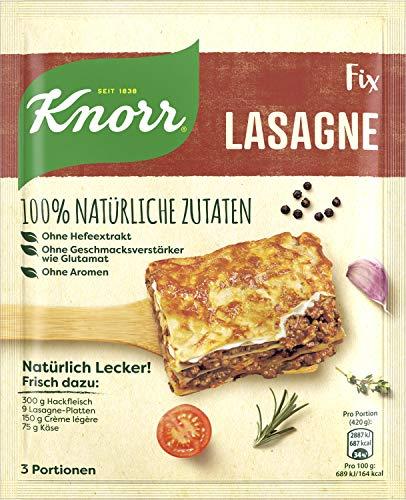 Knorr Natürlich Lecker Lasagne Fix 3 Portionen (17 x 60 g)