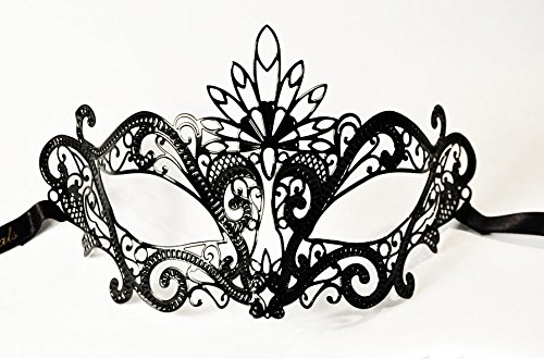 JapanAttitude Masque loup vénitien élégant gothique Pavone Peacock, paon