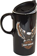 Harley-Davidson Travel Latte Mug, Bar & Shield Eagle Tall Boy, 21 oz. 3TBT4907