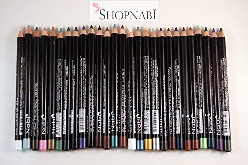 24pcs Nabi High Quality Eyebrow and Eyeliner Pencil