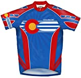 Primal Wear Colorado Flag Cycling Jersey Men's XXL Short Sleeve