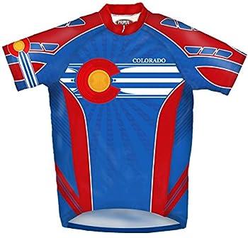 Primal Wear Colorado Flag Cycling Jersey Men s XXL Short Sleeve