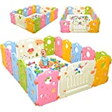 Ashtonbee Playpen Multicolor Activity Center for Babies and Kids