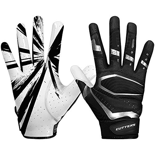 Cutters American Football Receiver Gloves S452 Rev Pro 3.0 Design 2018 - schwarz Gr. L