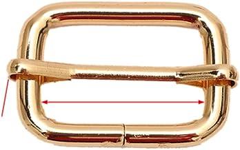 2 pièces glissières en métal en forme de fil à rouleaux boucles ardillons curseur de sangle boucles réglables non soudées ...