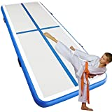 Elevens Airtrack Tumbling Mats for Gymnastics, Inflatable Air Floor Mat for Home, Backyard,...