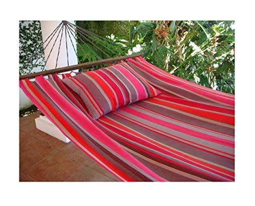 export sal hangmat Berry lengte 295 cm van katoen met spreidstok zonder frame