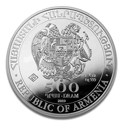 Silbermünze Arche Noah - prägefrisch - einzeln in Münzkapsel verpackt (1oz (2019))