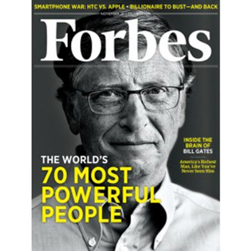 Forbes, November 7, 2011 audiobook cover art