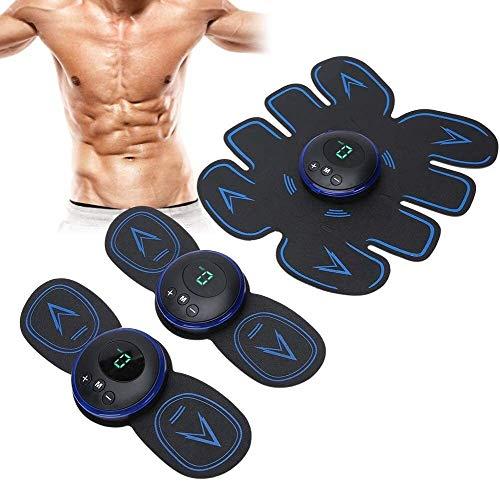WNN-URG Ccsme estimulador muscular, Abs estimulador abdominal cinturón de tonificación muscular del dispositivo de entrenamiento portátil Hombres Mujeres entrenamiento de la aptitud for el Cuerpo Abdo