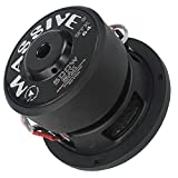 Car Subwoofer by Massive Audio GTX64 - Woofer with Amazing Sound for Truck, Cars - 6.5 Inch Car Audio 500 Watt GTX Series Dual 4 Ohm, 1.5 Inch Voice Coil. Sold Individually