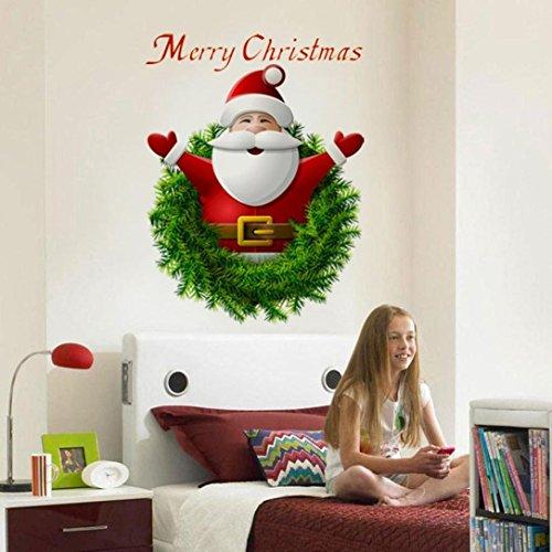 VENMO 2018 Merry Christmas 3D Santa Claus Wall Art...