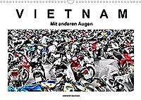 Vietnam - Mit anderen Augen (Wandkalender 2022 DIN A3 quer): Vietnam - Mit anderen Augen. Schwarzweiss mit Farbe (Monatskalender, 14 Seiten )