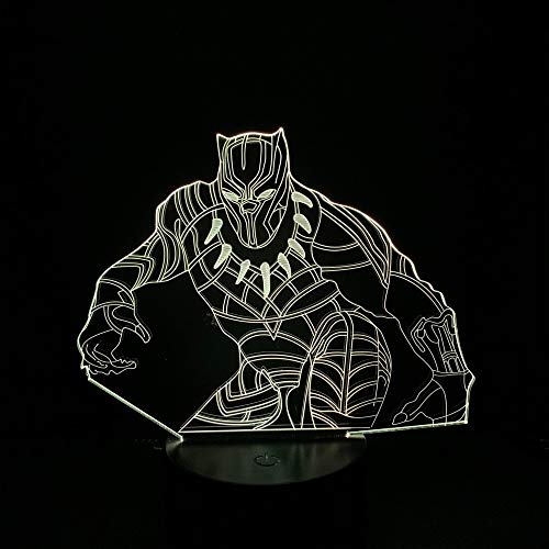 Comic Led Night Light pour adultes Led 3d Lamp Usb FFFCJYQ