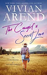 The Cowgirl's Secret Love (The Colemans of Heart Falls Book 2)