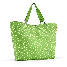 Reisenthel Shopper XL Cabas de Fitness, 68 cm, 35 liters, Multicolore (Spots Green)