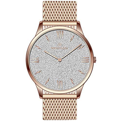 MENDOZZA -   Damen-Uhr White