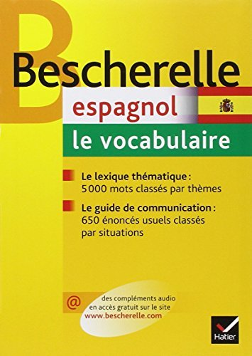 Bescherelle Espagnol - Le Vocabulaire (French Edition) by Ana Maria Palomo Delfa...