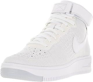 حذاء رياضي نسائي Af1 Air Force 1 Flyknit Hi Top Trainers 818018 من Nike