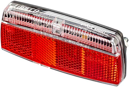 Litecco G-Ray-E1 Rücklicht mit Bremslicht Funktion Black/red 2020 Fahrradbeleuchtung