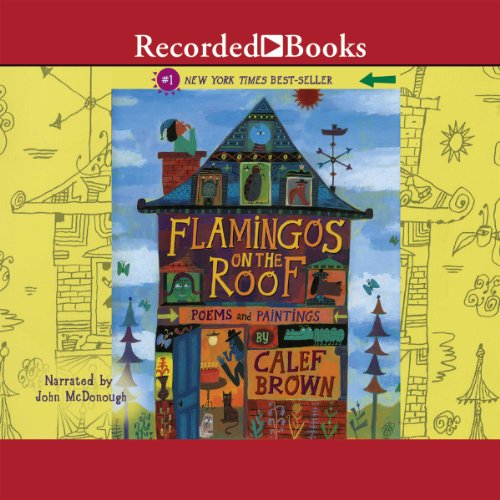 Flamingos on the Roof audiobook cover art