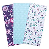 Trend Lab Jersey Burp Cloth Set, Mermaids, (Pack of 3)