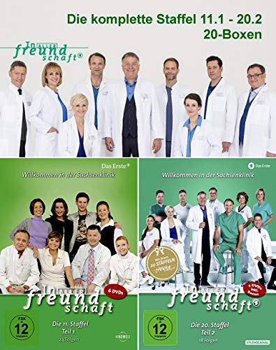 Staffel 11-20 (111 DVDs)