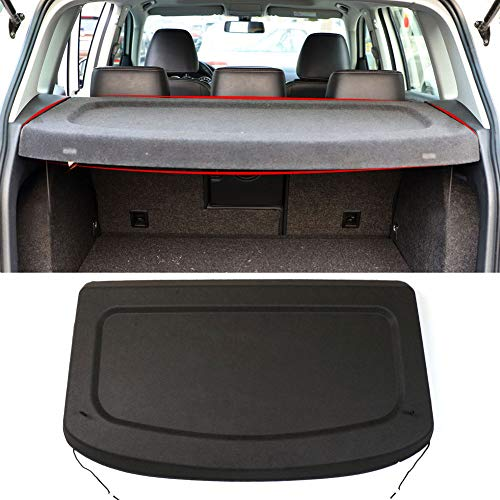 MarretooCargo Cover Compatible with VW Volkswagen Tiguan 2010-2015 2016 2017 Black Non-Retractable SUV TrunkAccessories