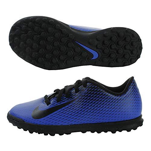 Nike Unisex Jr Bravata Ii Tf Futsalschuhe, Mehrfarbig (Racer Blue/Black 400), 37.5 EU