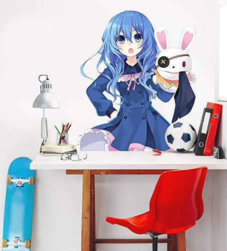 AJ WALLPAPER 3D Date a Live-Yoshino 5 Personaje Juego Papel Tapiz Mural Póster Japonés Animes Pegatina De Pared Papel Tapiz ES Zoe (Vinilo (Autoadhesivo), L:140cmH(55