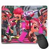 Spla-toon Partner Gaming Mouse Pad Unique Computer Mousepad Non-Slip Rubber Mouse Mat for Home Office