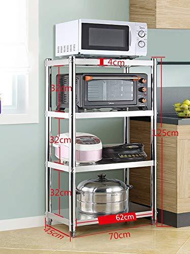 LNDDP Estante de Almacenamiento Electrodomésticos de Cocina para Horno de tostadora Soporte para…