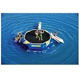 AQUAGLIDE Platinum Rebound Aquapark Set, 16', Blue