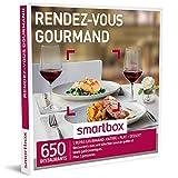 smartbox - coffret cadeau - rendez-vous gourmand - 440 restaurants avec une sélection issue de